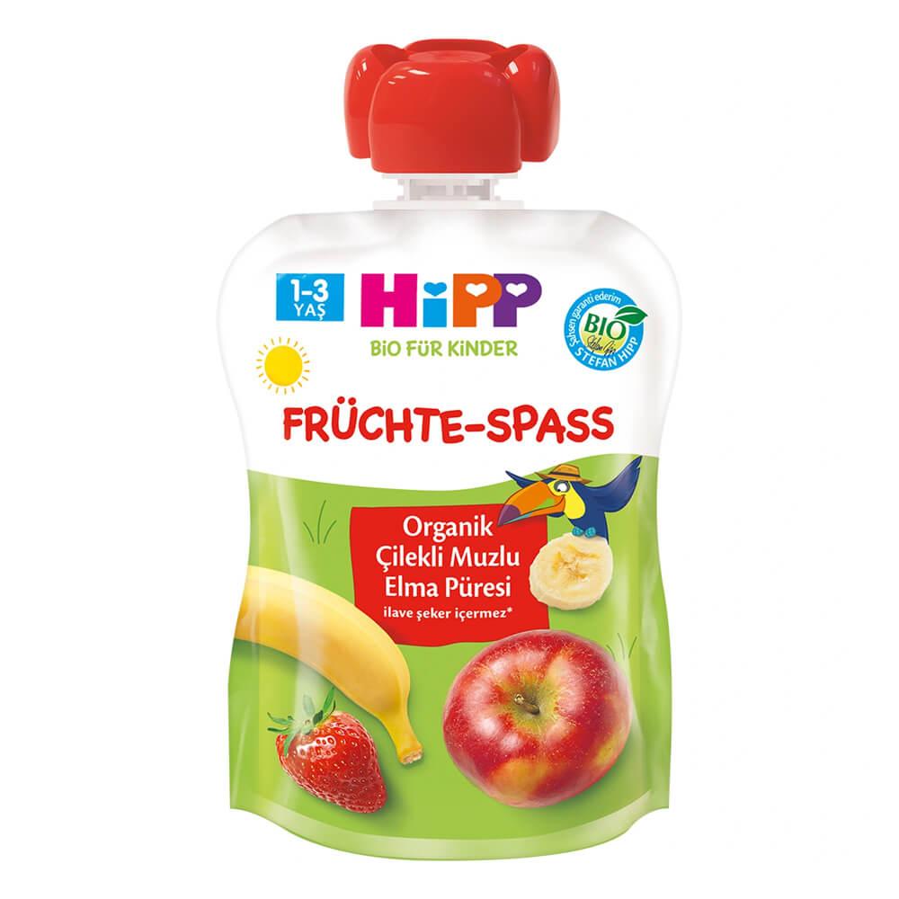 organik-cilekli-muzlu-elma-puresi-glutensiz-bebek-pure-hipp